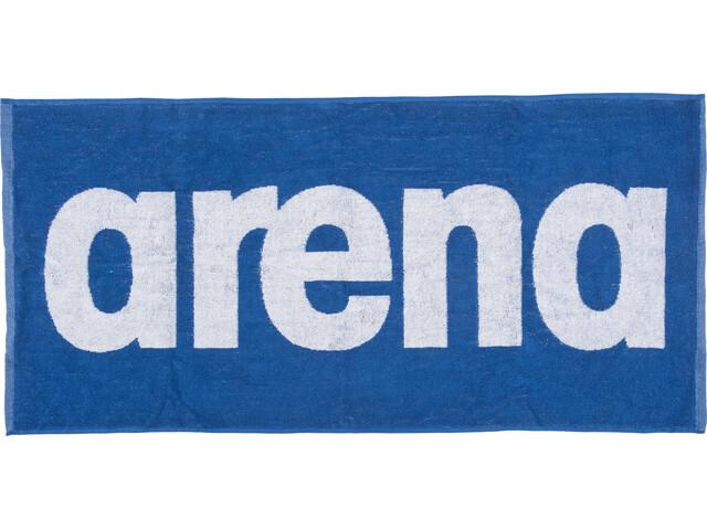 arena Gym Soft Håndklæde blå/hvid